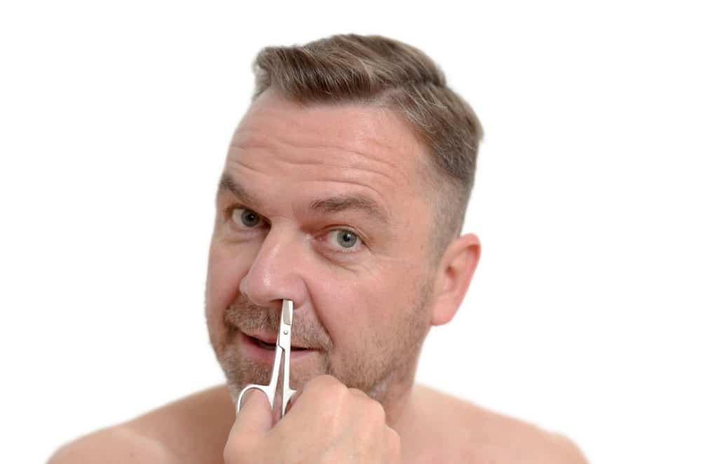 Trim Your Nose Hairs