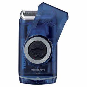 Braun Pocket Mobile Electric Foil Shaver for Men