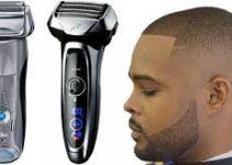 black man shaver