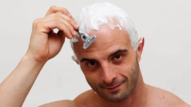 how to stop itching after shaving head